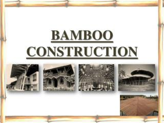 Bamboo roofing singapore