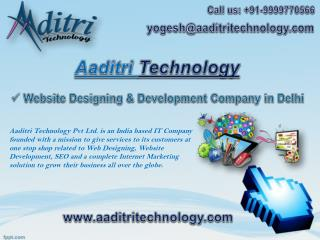 Web Designing, Website Development, SEO Company in Delhi