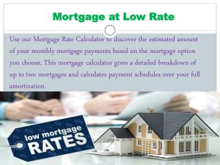 Find Current Mortgage Interest Rates Best Mortgage Rate Calculator