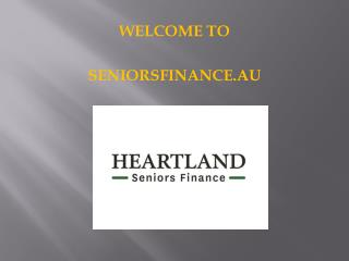Heartland Seniors Finance – Reverse mortgage fees