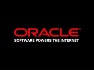Jenny Tsai Principal Product Manager Server Technologies Oracle Corporation