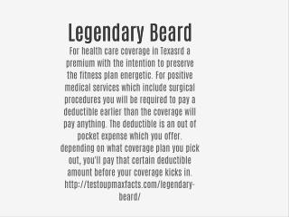 Legendary Beard