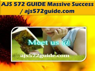 AJS 572 GUIDE Massive Success / ajs572guide.com