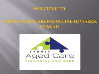 Sydneyagedcarefinancialadvisers - Refundable Accommodation Deposits