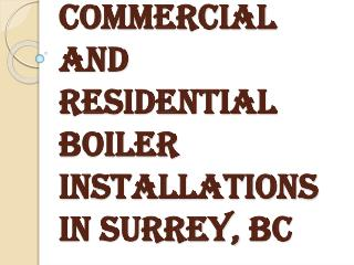 Accolade Commercial & Residential Boiler Repair and Installations services