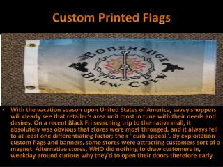 Custom Printed Flags - The Blog With Custom Flags and Banners