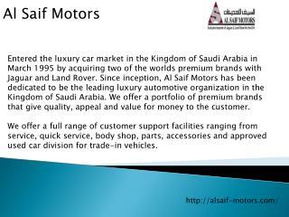 Al Saif Motors