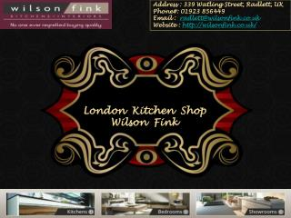 Kitchen Shop in  London | Bespoke Kitchens London | Wilson Fink