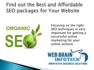 Cheap, Reseller and Affordable SEO packages in India