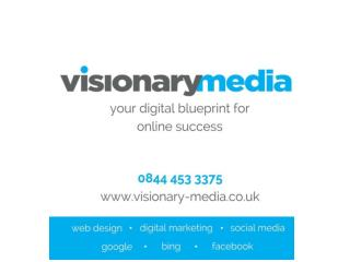 Digital Marketing Companies Bristol Based - Visionary Media