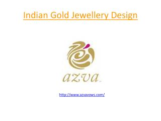Indian Gold Jewellery Design