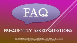Dental clinic in Ashok Vihar Delhi