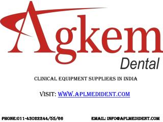 Clinical Equipment Suppliers in India
