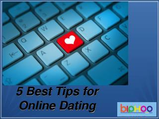 5 Best tips free Online Dating