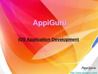 Choose A Great  iOS Application Development Company
