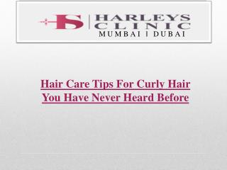 Hair Care Tips For Curly Hair You Have Never Heard Before