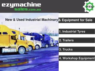 New & Used Industrial Machinary & Equipment for Sale