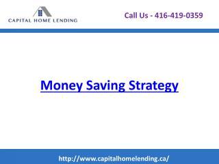Money Saving Strategy Rounding Up - Capital Home Lending