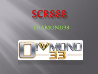 SCR888 Online Game Available at Diamond33