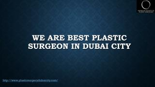 plastic surgeon Dubai