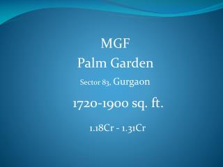Palm Garden | Innovative Estate | 981-123-1177