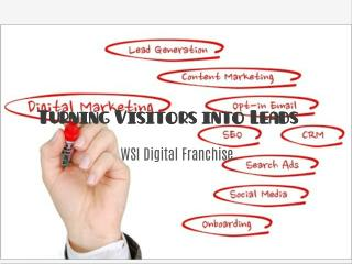 WSI Digital Franchise | Turning Visitors into Leads