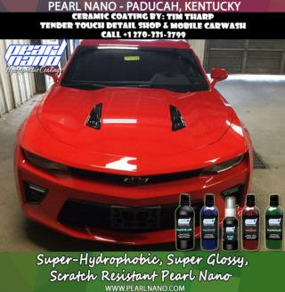 Super Hydrophobic Coatings - Tender Touch Detail Shop & Mobile Carwash