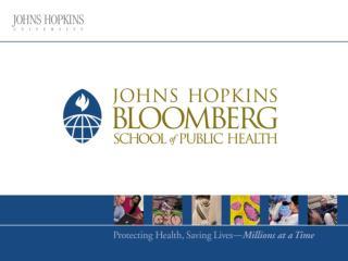 Public Health Practice Opportunities in Baltimore
