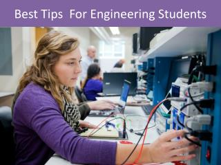 Best Tips  For Engineering Students