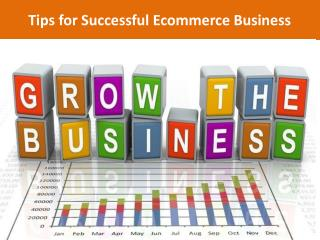 Tips for Successful Ecommerce Business