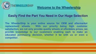 Shipping Policy - Wheelership