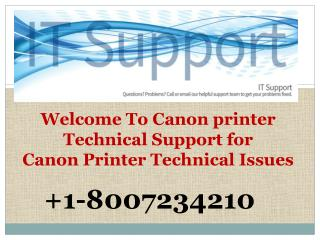 Canon Printer Technical *1*8*0*0*7*2*3*4*2*1*0* Support Canada USA