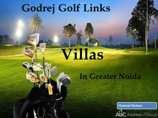 Godrej Golf Links Greater Noida call @ 7042163589