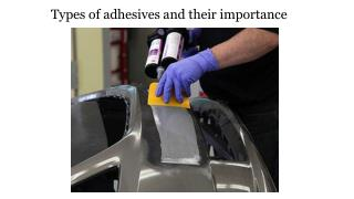 Types of adhesives and their importance