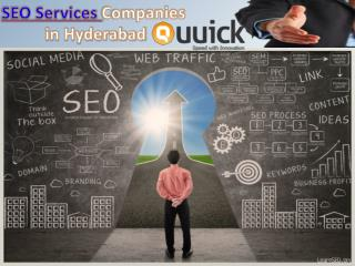 Seo Services in Hyderabad, Best Seo Companies in Hyderabad - Quuick
