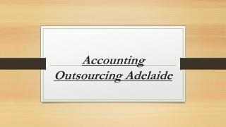 Accounting Outsourcing Adelaide