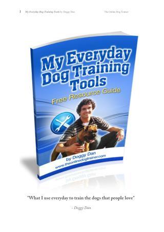 Best Dog Training Tools