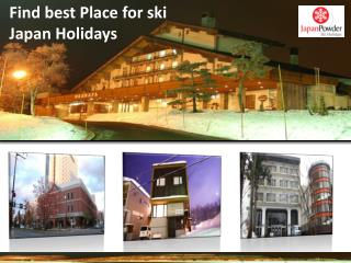 Find famous Ski Resorts in Japan