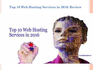 6 Web hosting providers review customer support and uptime