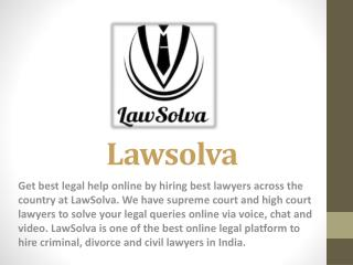 Get Free legal Advice Online