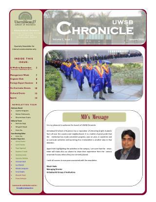 MBA course ahmedabad Unitedworld