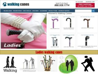 Welcome to Walking Canes your source for our Exclusive Selection of Canes.