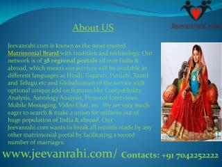 jeevanrahi No.1 Gujarati matrimony sites india