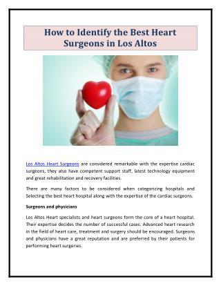 Los Altos Heart Surgeons