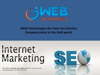 Digital Marketing Services | iWeb Technologies