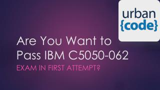 IBM C5050-062 Real Exam Questions Dumps