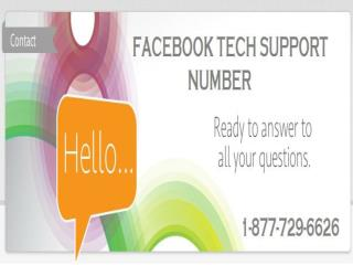 Facebook Technical Support 1-877-729-6626 Helps You Enjoy Your Facebook