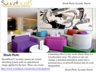 Shush Photo Acoustic Panels