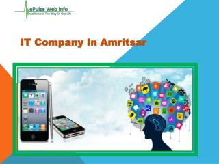 Mobile Web Application Development- Epulsewebinfo.com- Software companies in India- Best Graphic Design Company