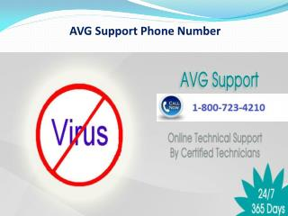 1 800 723 4210 avg antivirus customer support contact number